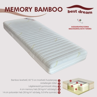 Best Dream Memory Bamboo matracok